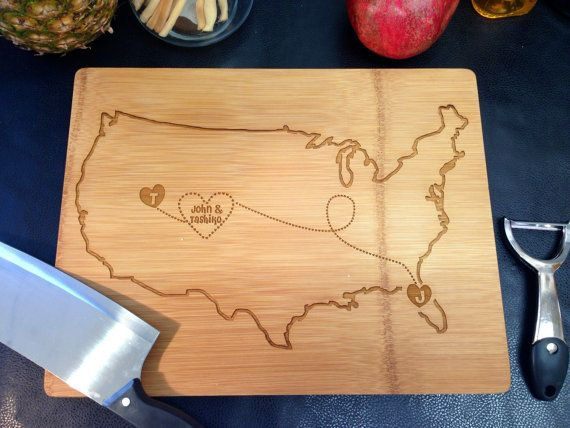 Cutting Board Personalized Cutting board United by LetsEngraveIt, $35.00
