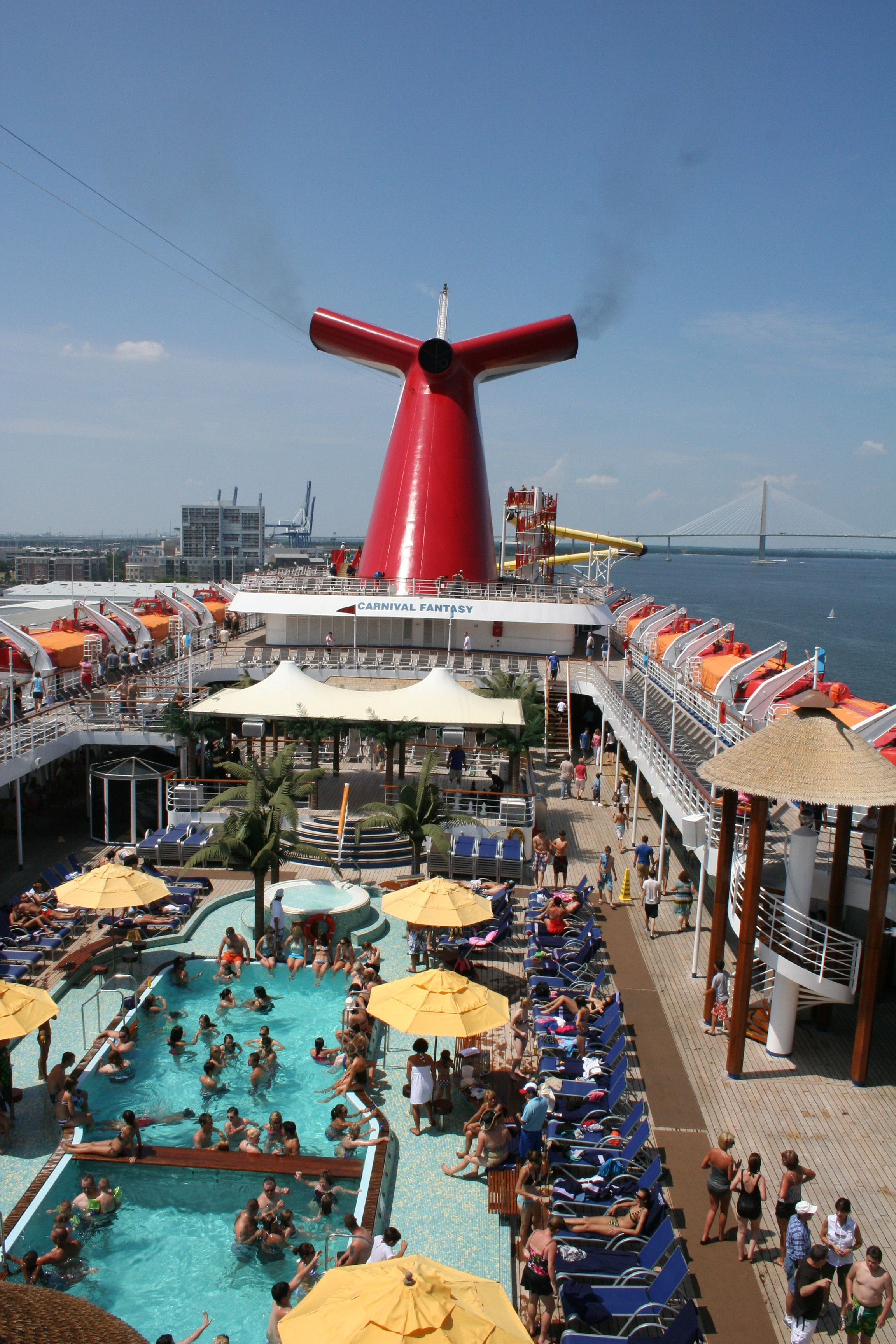 Carnival Fantasy Cruise Pool