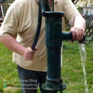 Wasserpumpe Im Garten Garten Pinterest Garten Wasserpumpe