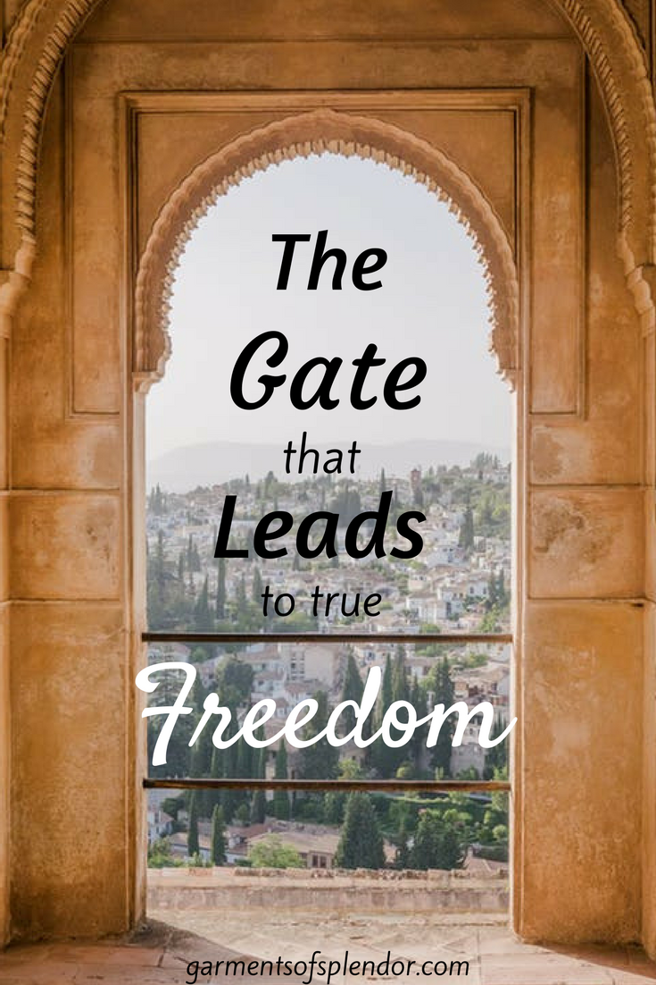 God offers us life though the beautiful gate--will you walk through? Check out this post to find your path to true healing and freedom!