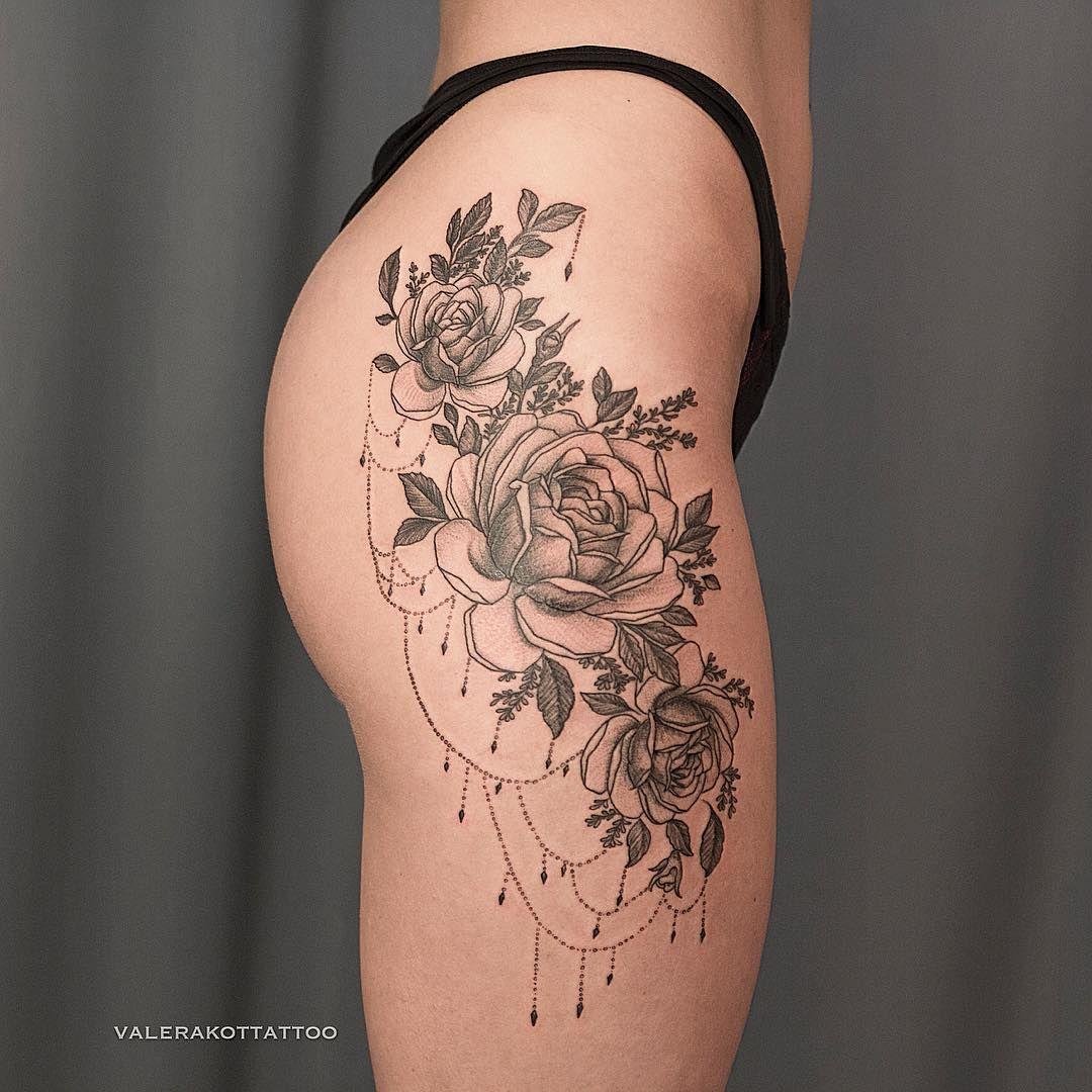 90 Creative And Artistic Hip Waist Tattoos: Pin De Douglas Henrique Em Tatuagens