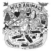 WILD ANIMALS https://records1001.wordpress.com/