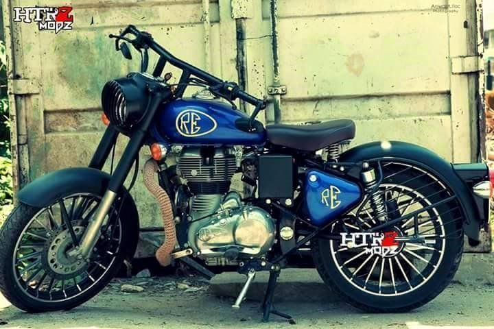 Royal Enfield Best Modifications Bullet Bike Royal Enfield