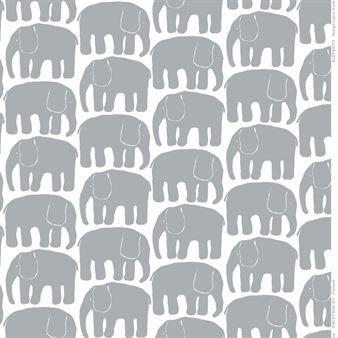 Toile cirée Elefantti - gris - Finlayson
