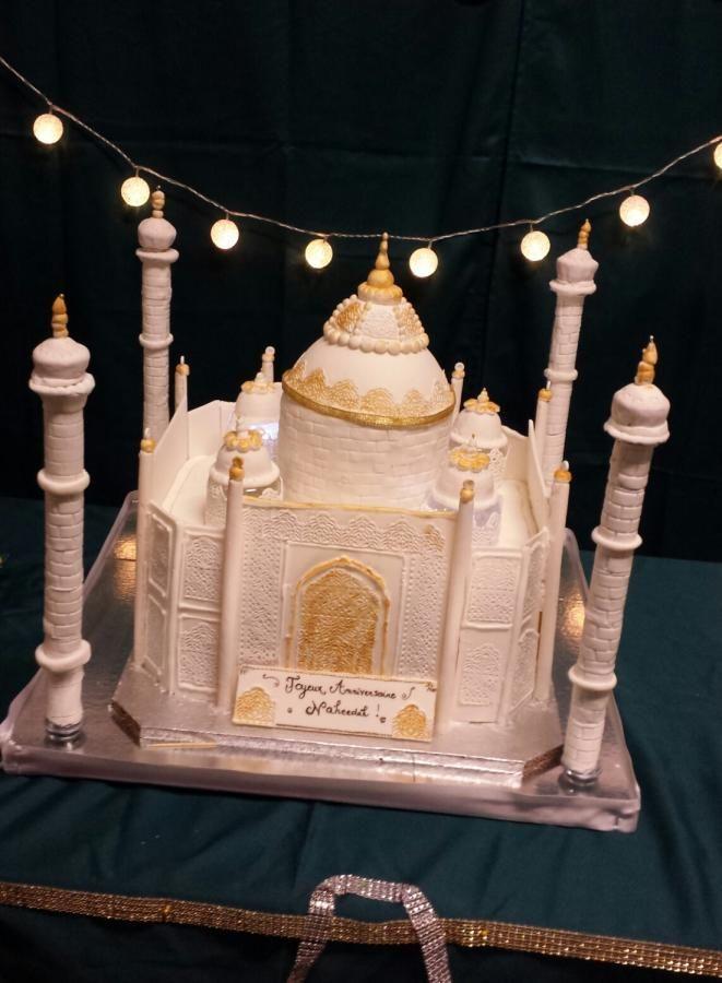 tajmahal cake - Cake by Sameeya'cakes