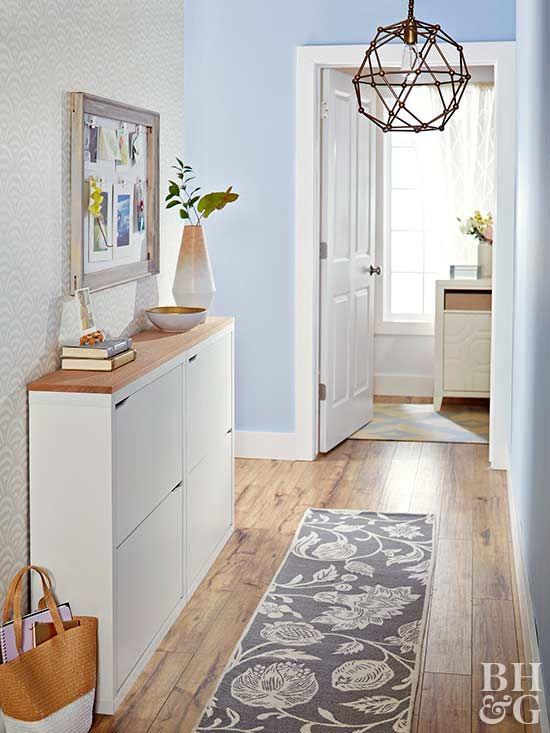 Hallway Decorating Ideas | Interior walls, Decorating and Foyers