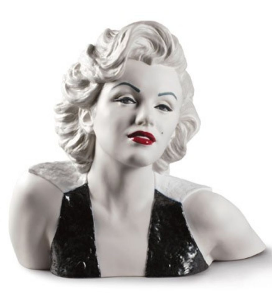 Marilyn monroe ornaments - D Tails Sur Lladro Figurine Marilyn Monroe Porcelaine Ornement Figure 41cm 01009131 Nouveau