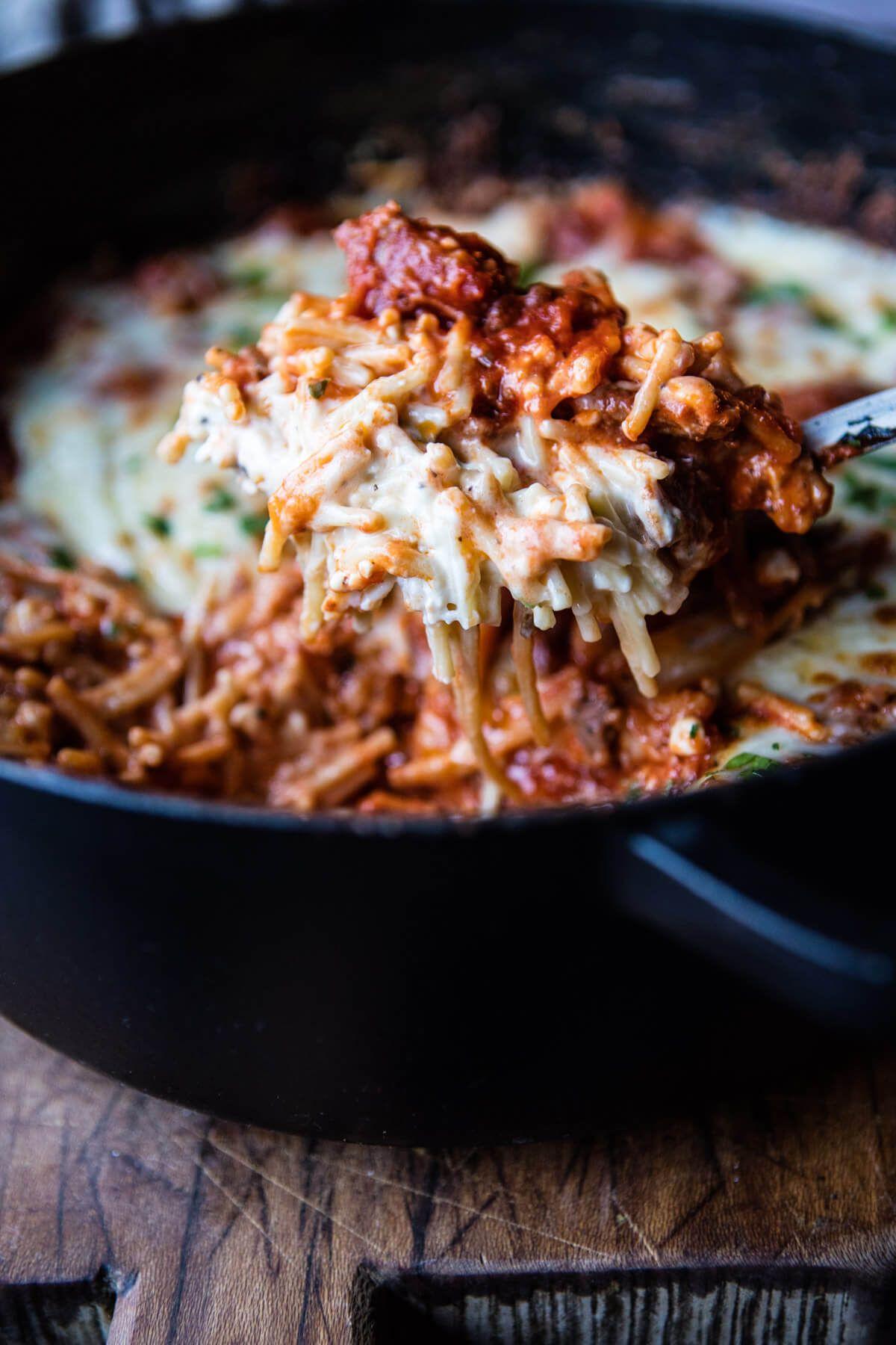 Million Dollar Spaghetti Half Baked Harvest Recipe Million Dollar Spaghetti Recipes Food