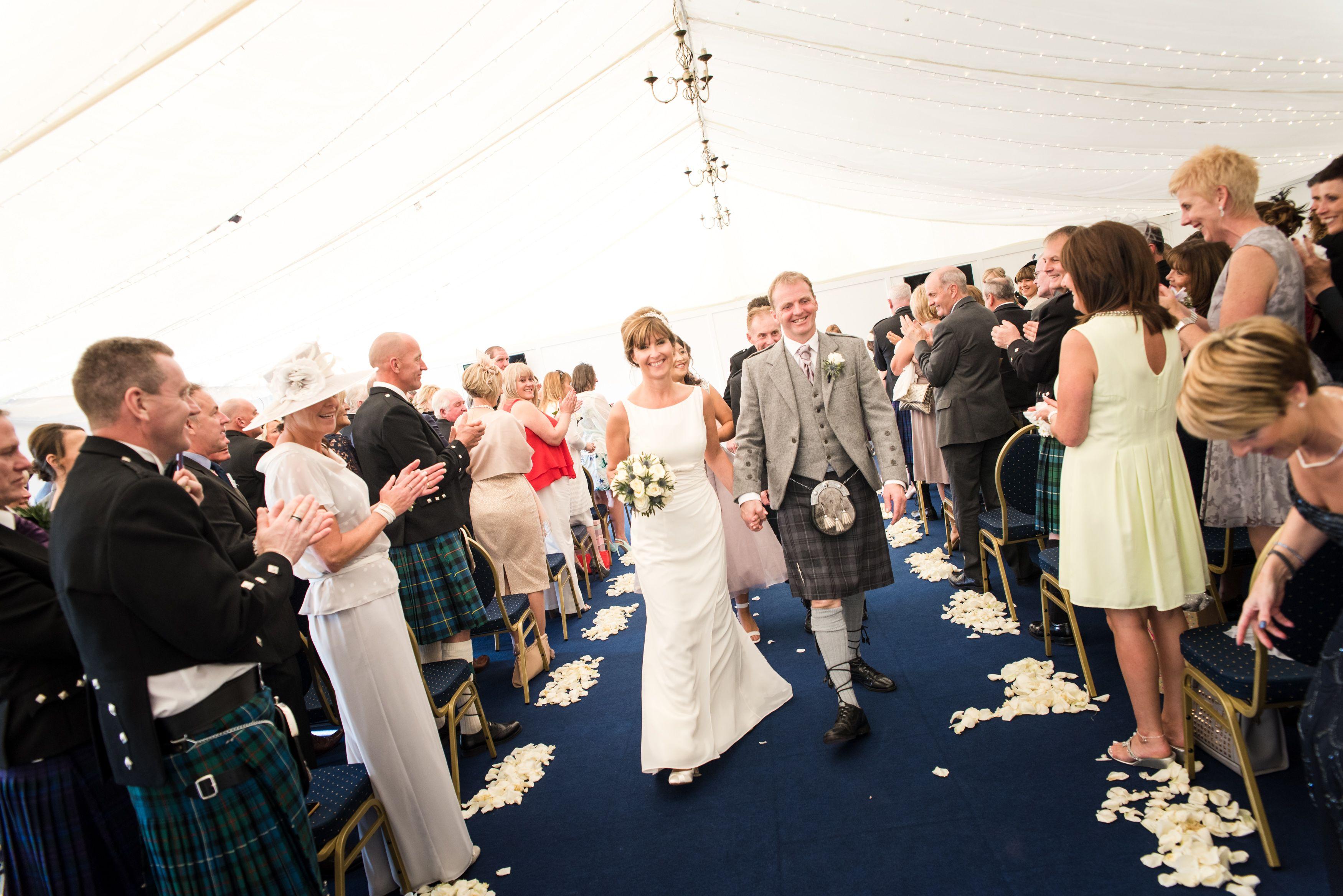 Club Lawn Marquee Wedding Ceremony At Perth Racecourse Marquee Wedding Wedding Venues Wedding