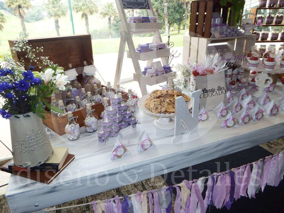 Mesa de dulces y postres premium vintage para bodas xv - Mesa de dulces para bodas ...