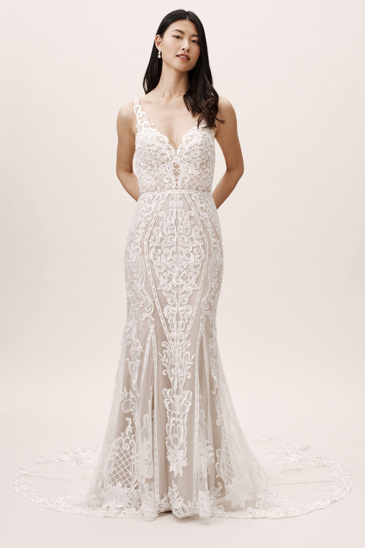 Best Wedding Dress Shops In Los Angeles Luxury Bhldn S Wtoo By Watters Wtoo By Watters Viola Go In 2020 Elopement Dress Elopement Wedding Dresses Classic Wedding Dress