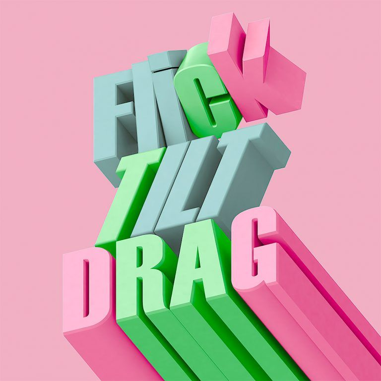 Creative Typography Artworks by Mat Brown | Inspiration Grid #3dtypography