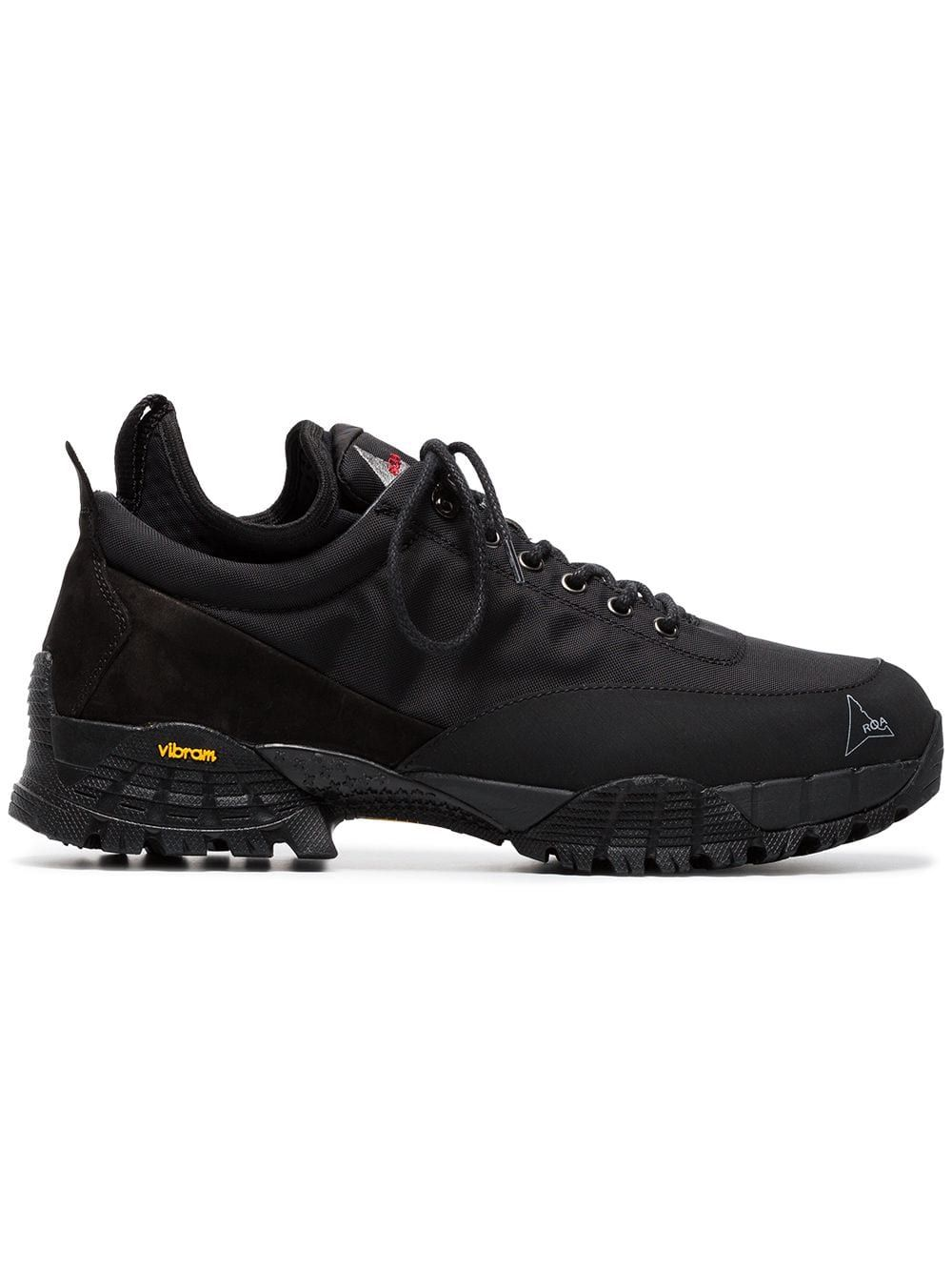 newest 626a7 f3745 Roa Black Neal track sole sneakers