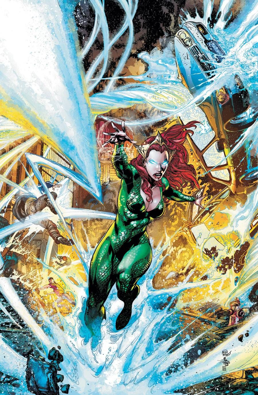 Mera screenshots, images and pictures - Comic Vine   DC