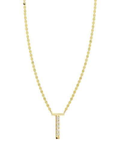 Lana Jewelry Get Personal Initial Pendant Necklace with Diamonds KeyzwX