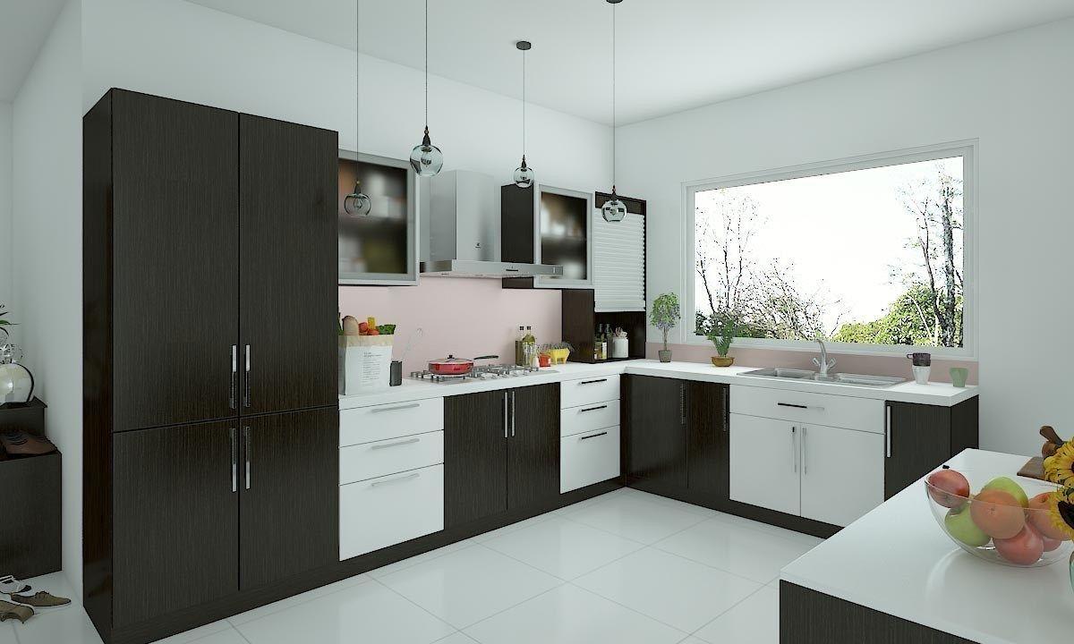 l shape small kitchen designs   L shaped kitchen designs, Kitchen ...