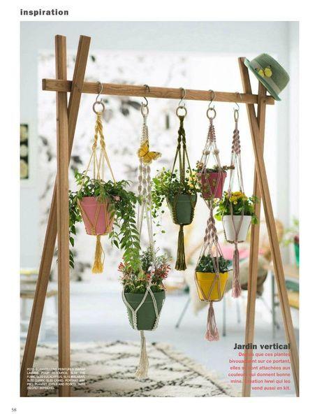 Marie Claire Idée / Mai - Juin 2016 - P.58 | Container Gardening