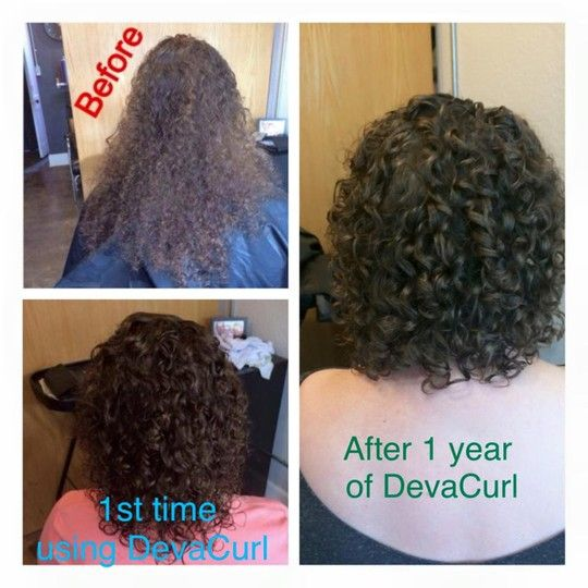 This Is How Devacurl Changed Her Hair Over The Past Year The