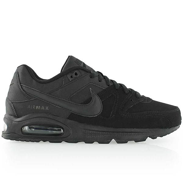 nike AIR MAX COMMAND LEATHER BLACKBLACK ANTHRACITE | Tênis