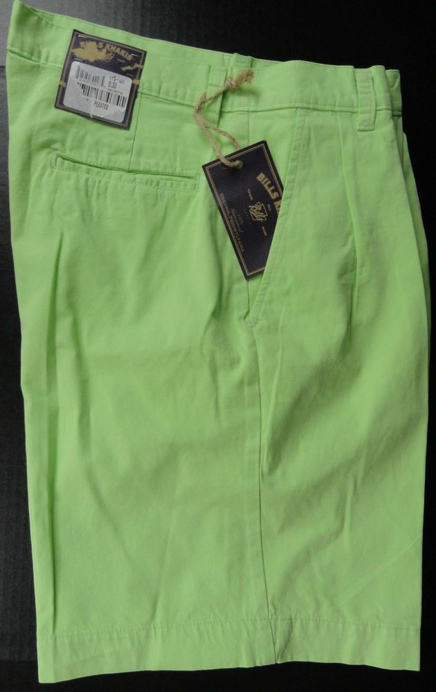 Bills Khakis Parker Shorts 33