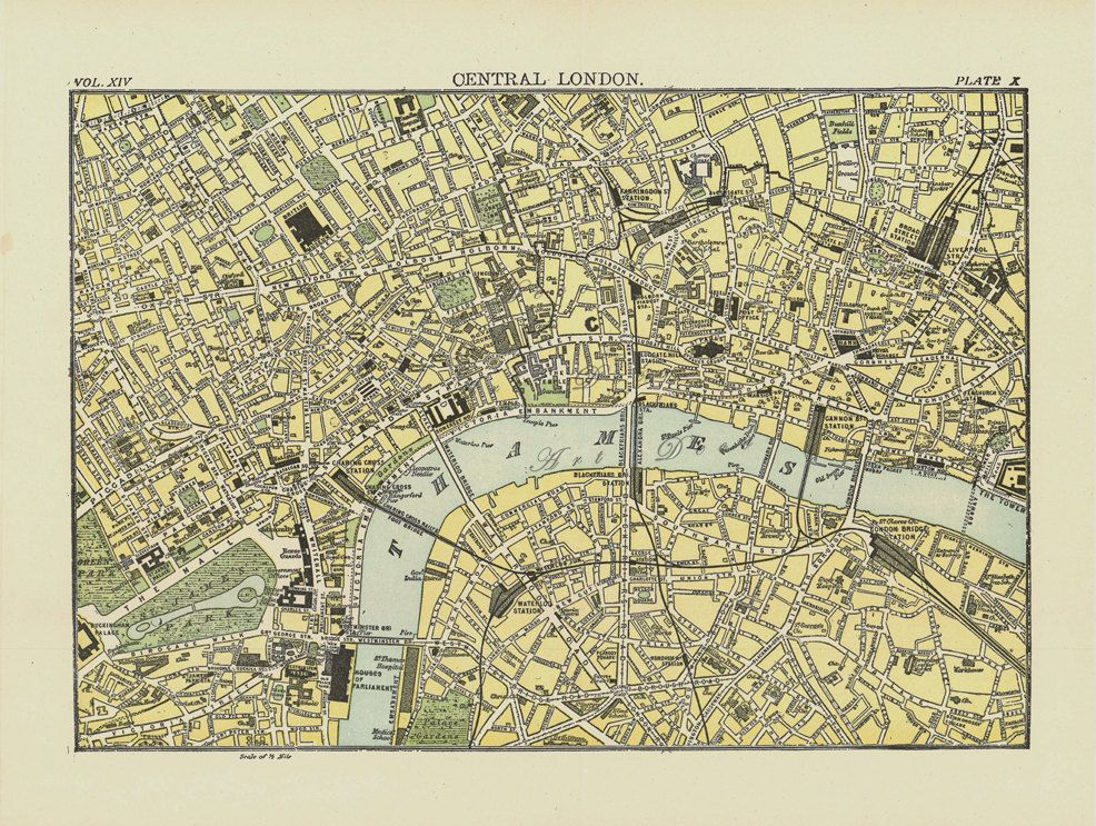 old map of london 1895 high resolution file to print out big digital map