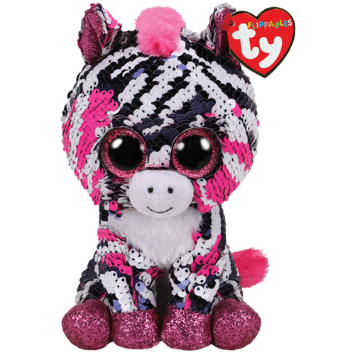 "6/"" Ty Beanie Boos Flippables-Sequin Pixy Stuffed Plush Kid Toy Animal  Doll Gift"