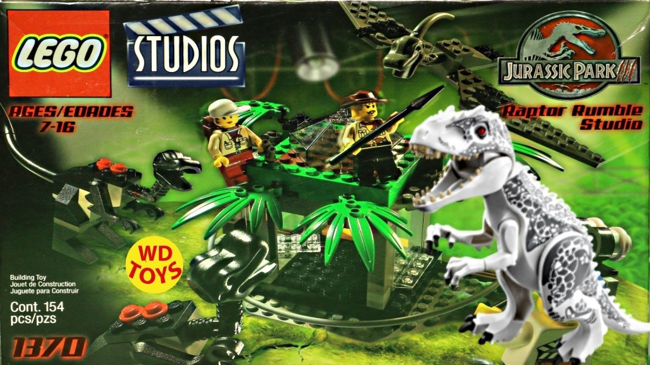 Giocattoli Jurassic World 2018 New Lego Raptor Rumble Studio Jurassic Park Vs Indominus Rex