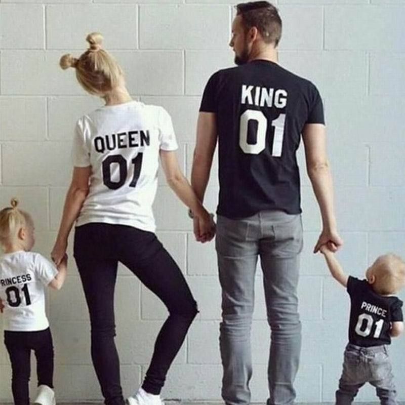 3053153ad718  4.99 - Top Couple T-Shirt King And Queen Love Matching Shirts Summer Tee  Tops 2018  ebay  Fashion