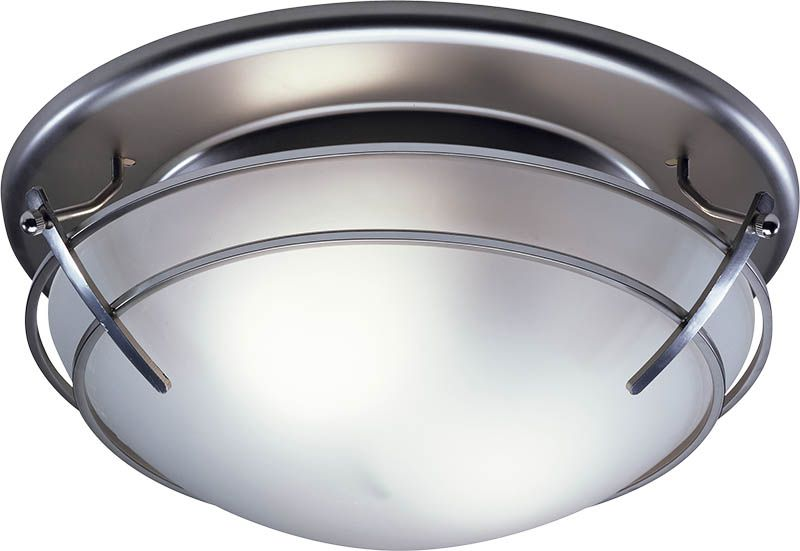 Bathroom Ceiling Fans Light Combo Broan 757sn Fan With Frosted Gl