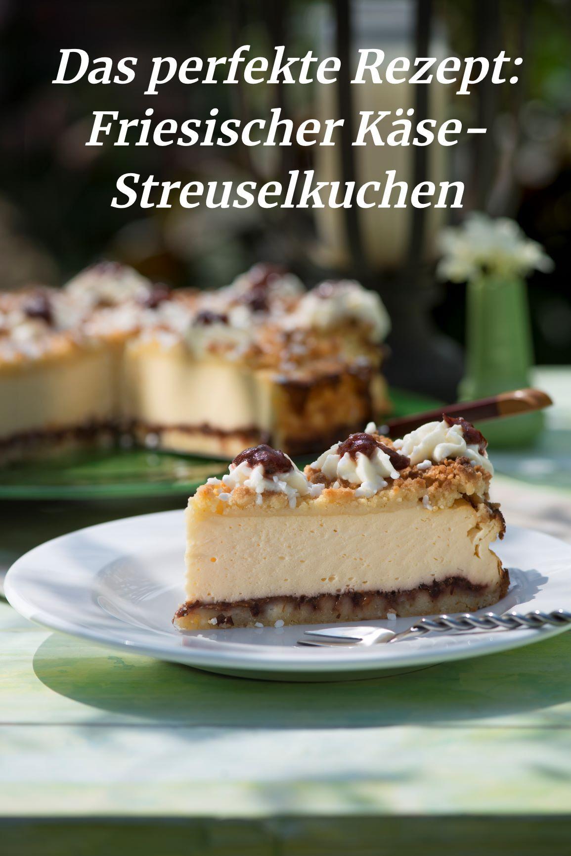 Friesischer Käse-Streuselkuchen