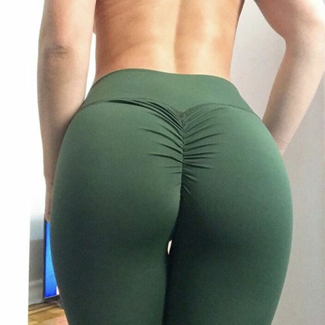 2e4d86a544efd Source newest popular hot selling yoga army scrunch butt flattering legging  on m.alibaba.com