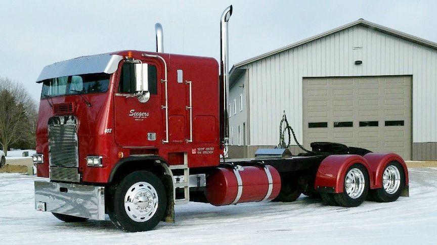 80s cabover (4) | Freightliner's | Freightliner trucks