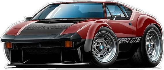 70s cars #70s 1973 Pantera GTS Car Wall Decal, Vintage Car Decals, Classic Car Decal, 70s Car Decals, Vintage Hot Rod DecalsHello and thank you for visiting Fat Cat Wall Graphics. Fat Cat Wall Graphics offers the very best OFFICIALLY LICENSED FORD vinyl decals that are currently available...anywhere! Our extremely talented artist has created the most spectacular and original renderings of the most popular Ford vehicles to date and we printed these gems on removable vinyl for the ultimate display