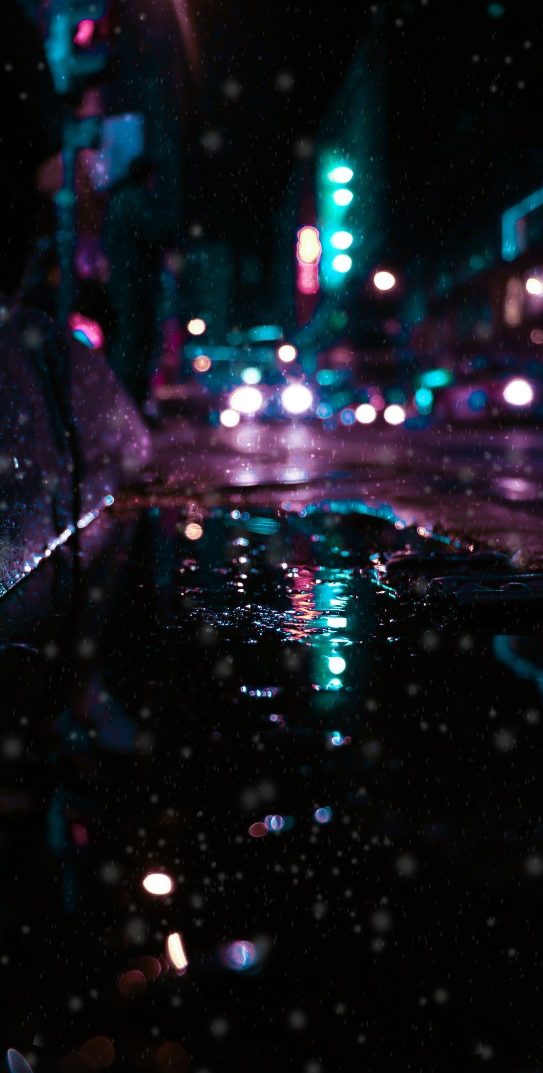 4k Wallpaper Follow Me In 2020 Rainy Wallpaper 4k Wallpaper For Mobile Neon Wallpaper