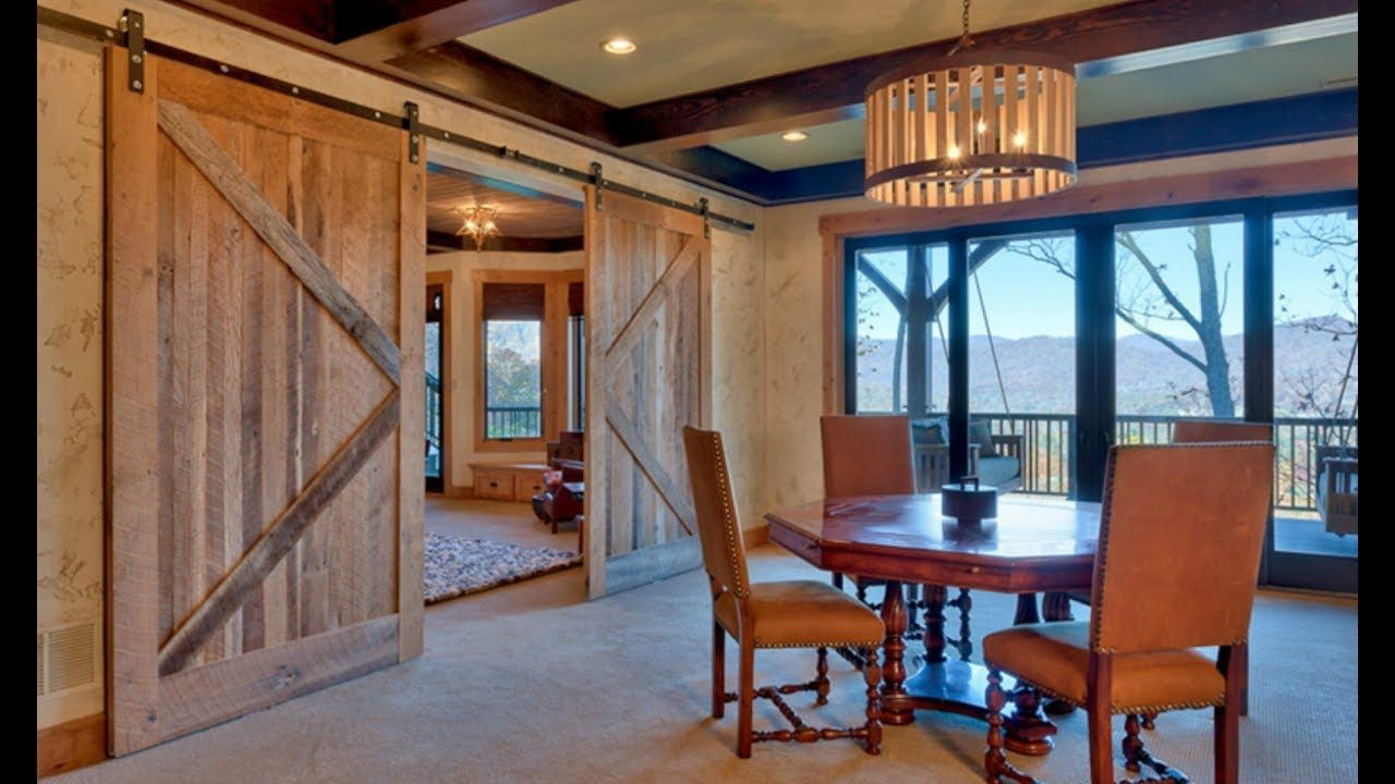 sliding wood door design ideas bedroom living and dining