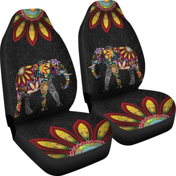 Bohemian Elephant Car Seat Covers | Carseat cover ...