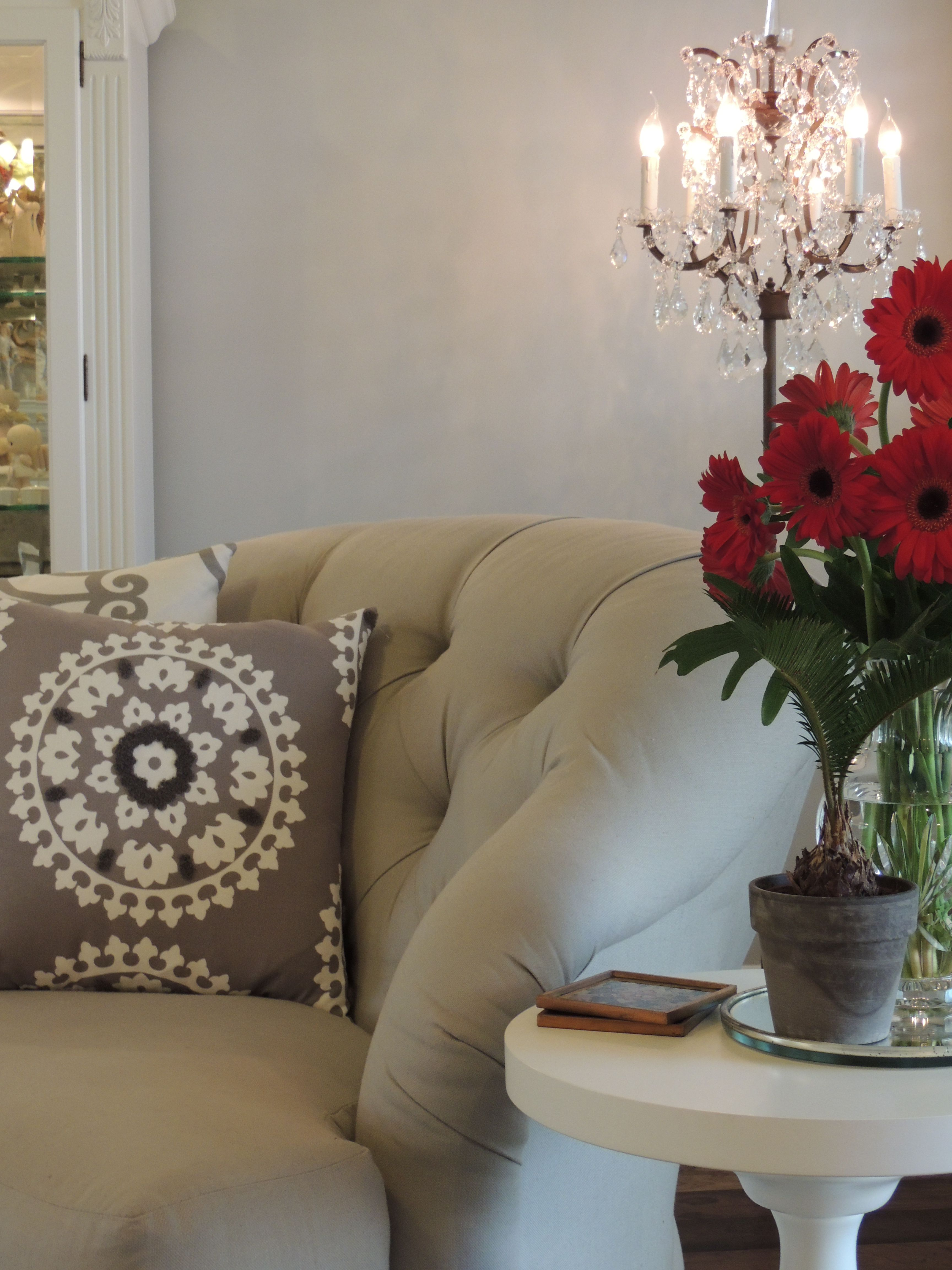 Kravet and schumacher fabrics on pillows reupholstered these cuddle