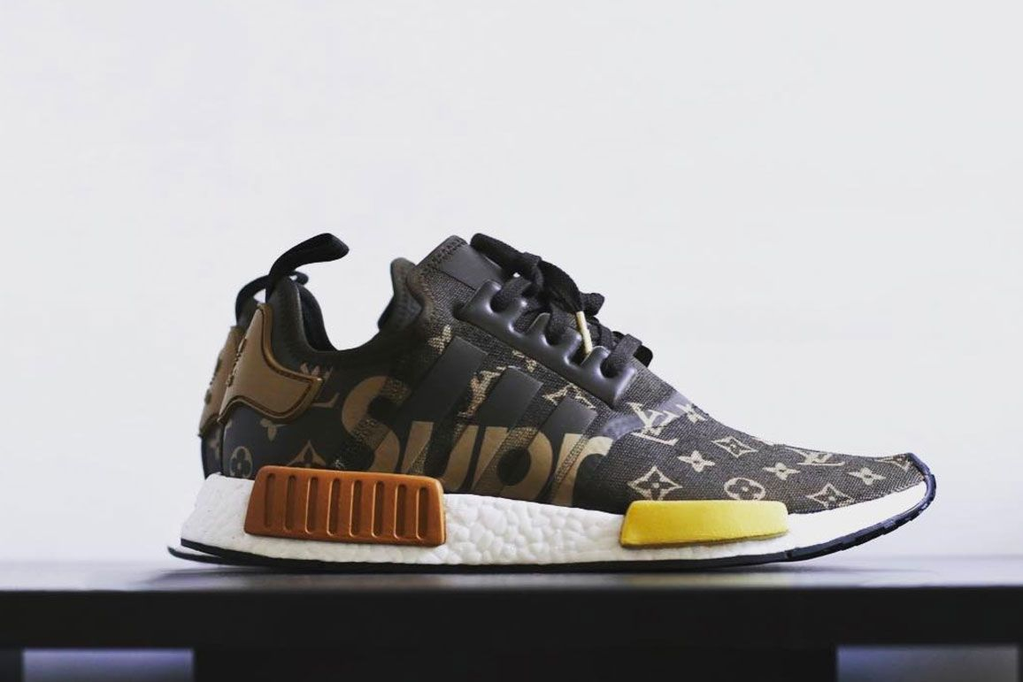 Take a Look at Supreme x Louis Vuitton x adidas' Upcoming NMD R1  Collaboration - MISSBISH - Women's Fashion, Fitness & Lifestyle Magazine