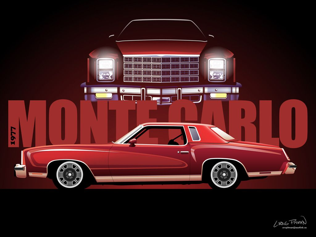 Google Image Result For Http Img Phombo Com Img1 Photocombo 6477 Car Vector Illustration Wallpapers Hq With Images Chevrolet Monte Carlo Monte Carlo Chevrolet