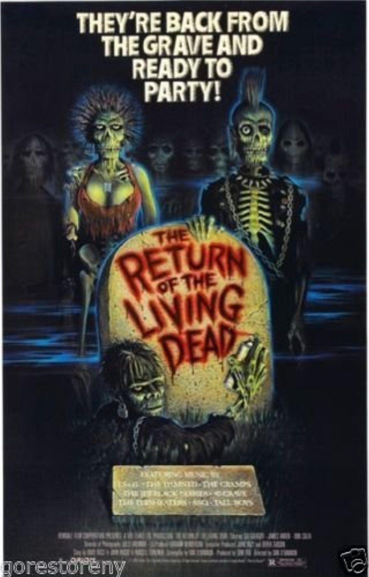 Return Of The Living Dead 1985 Movie Custom Wallpaper Wall