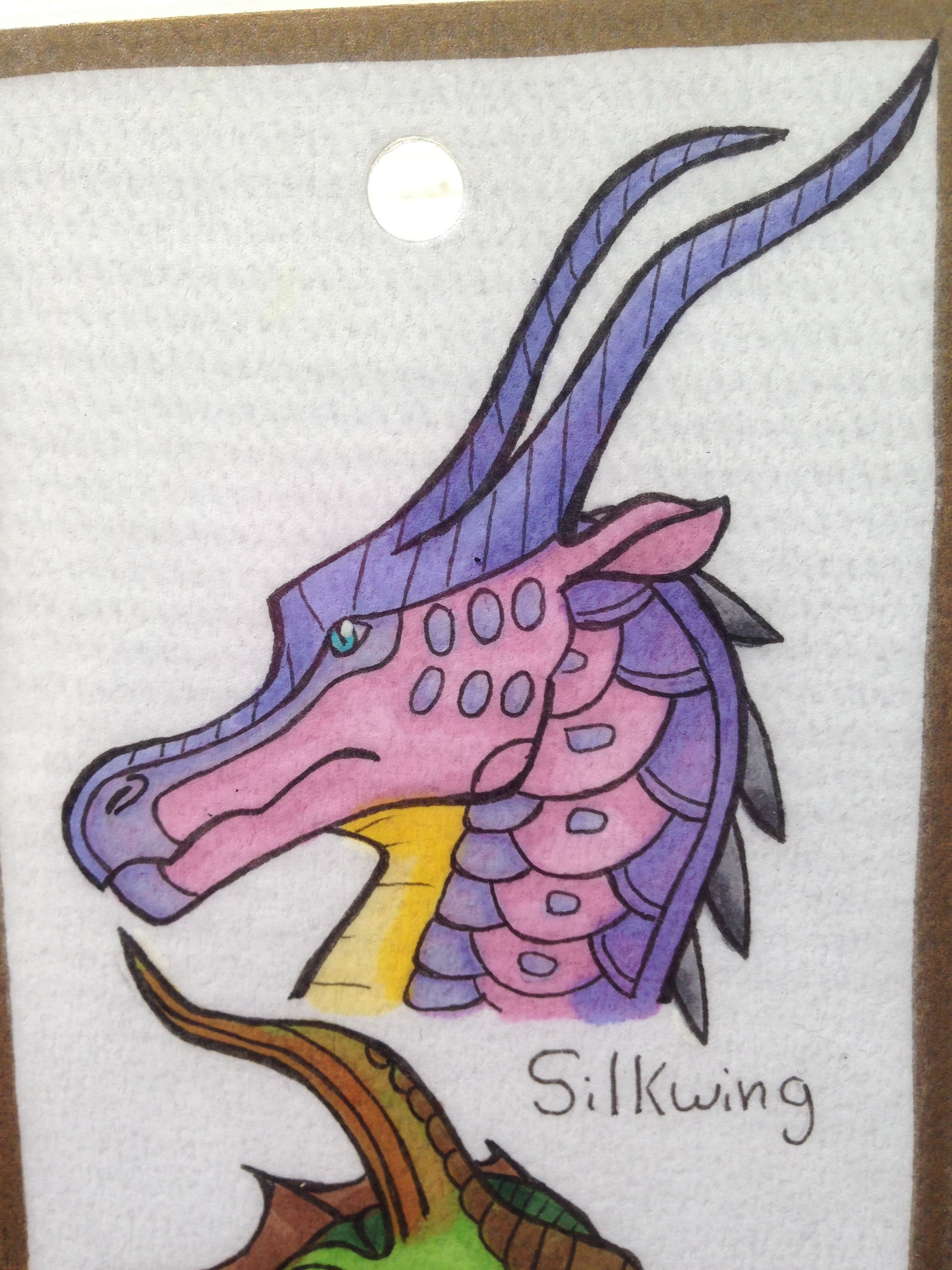 Another Silkwing 3 Wings Of Fire Dragons Wings Of Fire Fire Drawing