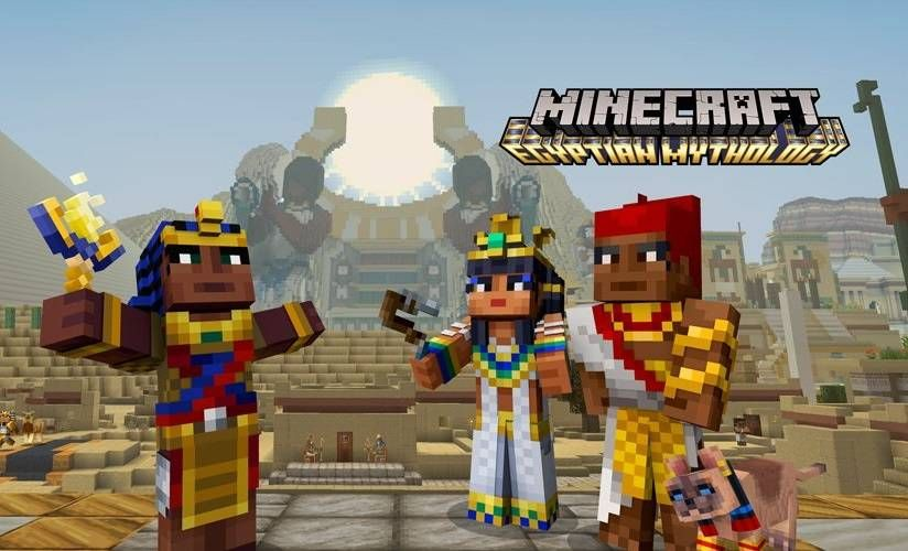 Minecraft 1 69 Update for PS4 and PS3 Adds Egyptian Mythology Pack