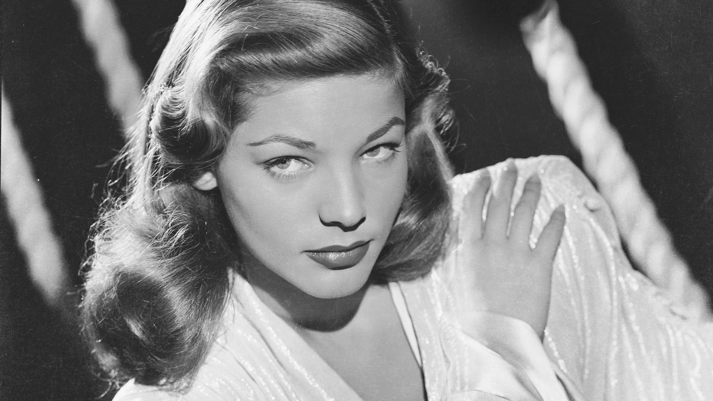 Old-school cool: Lauren Bacall could whistle, and that wasn't all