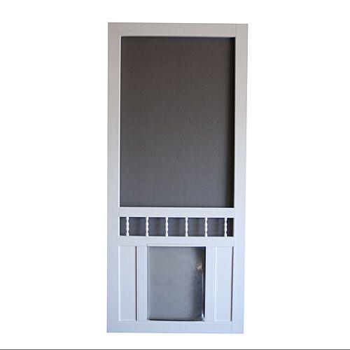 vinyl screen doors dog screen door