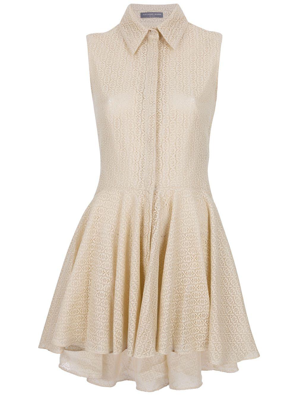Alexander Mcqueen Lace Blouse Dress | Clothes | Pinterest | Blouse ...