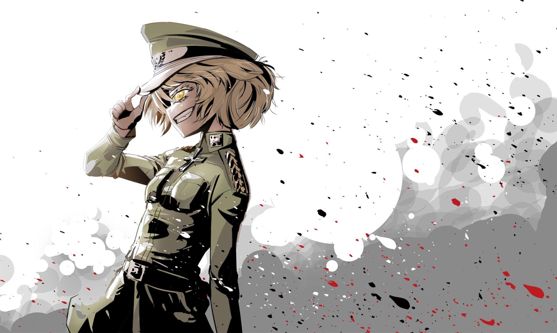 Anime Youjo Senki Tanya Degurechaff Wallpaper Ilustracao De