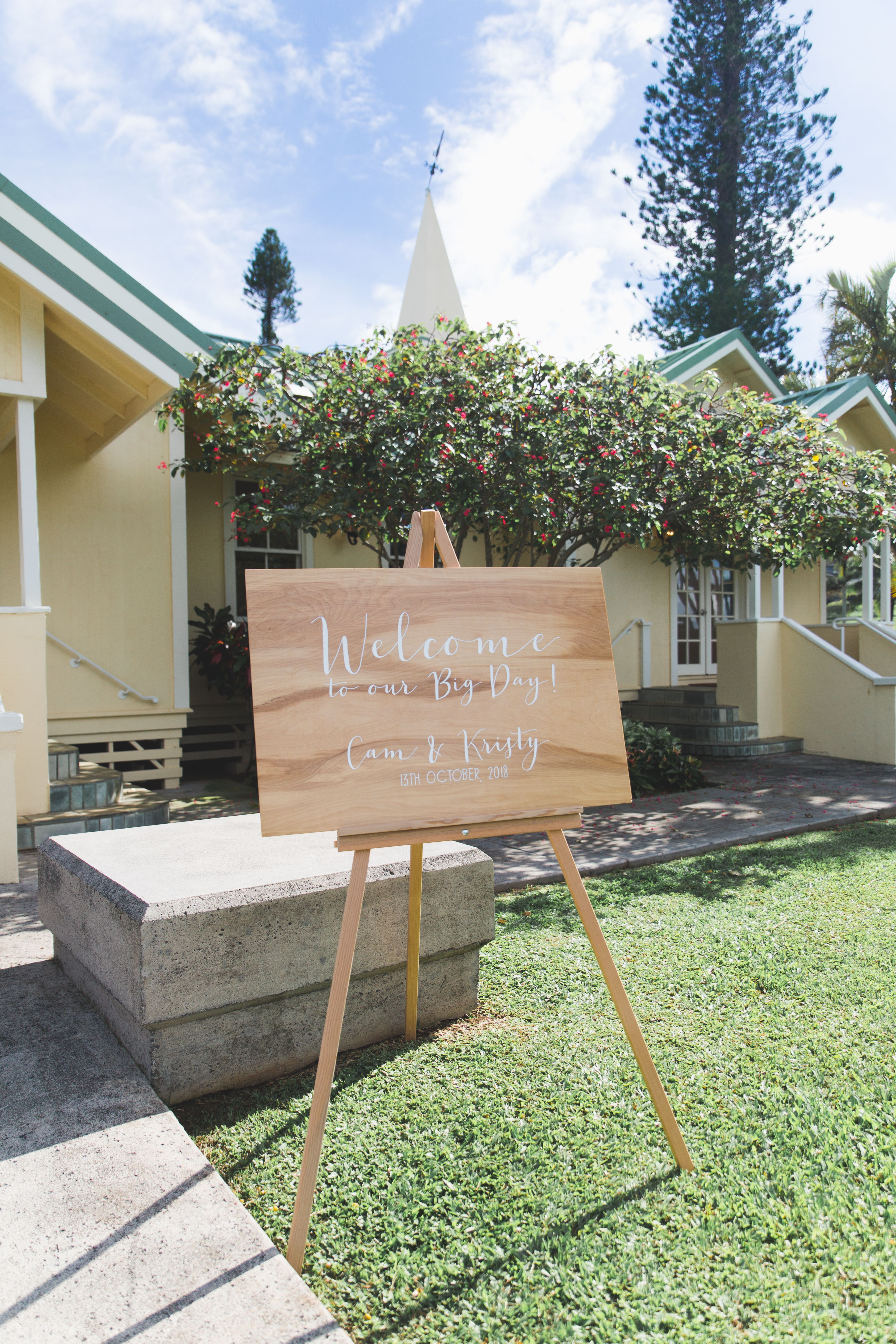 16+ Wooden easel for wedding sign ideas