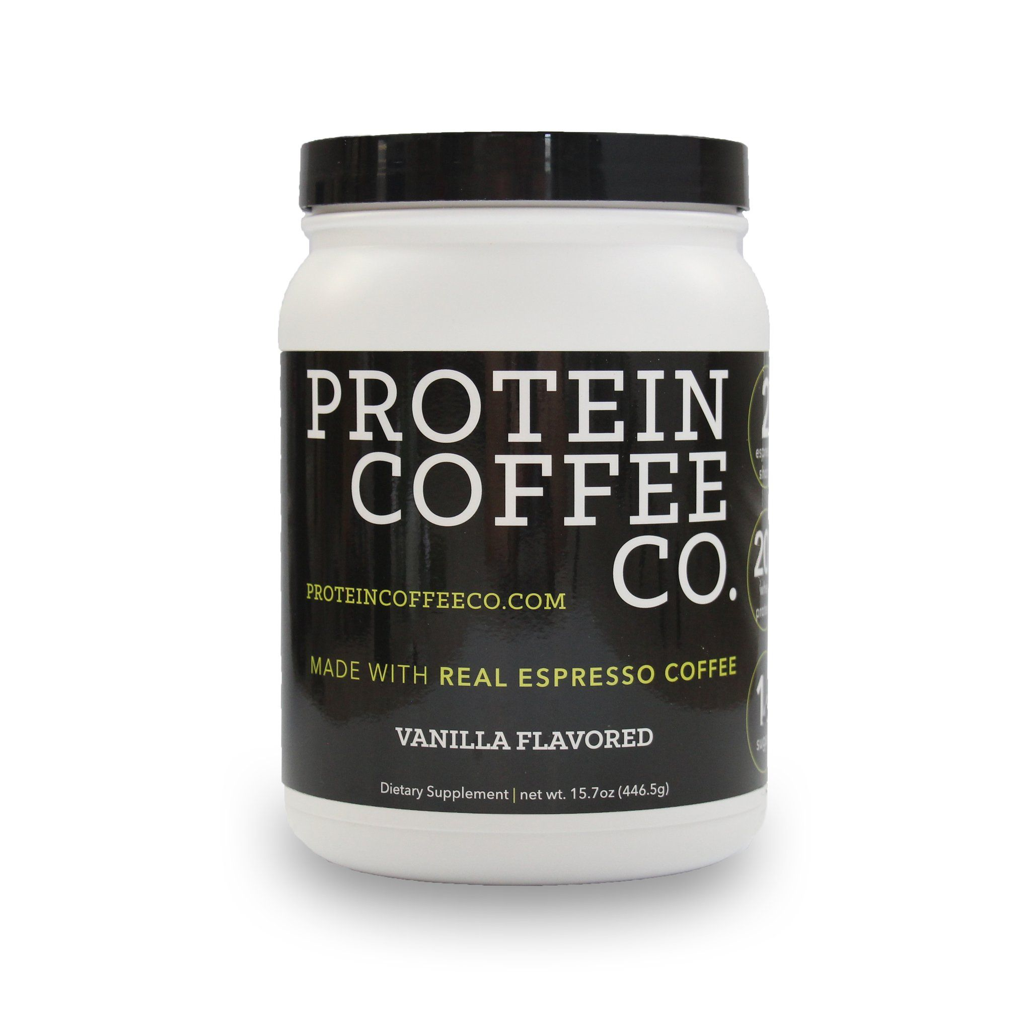 Protein Coffee Co Vanilla 20g Protein 2 Shots Of Espresso Protein Coffee Protein Powder Coffee Protein Shake Recipes