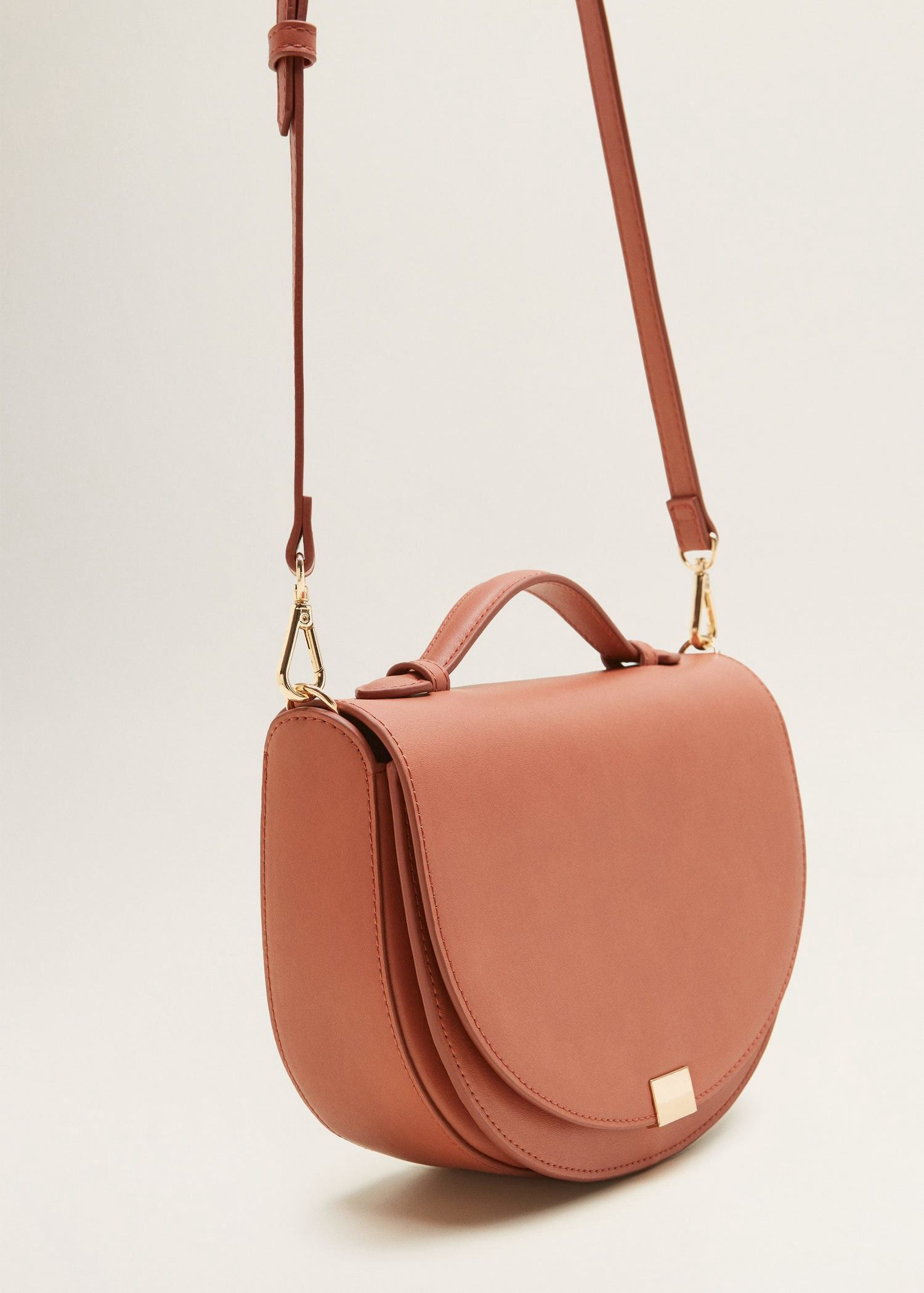 668e2c90f95e Mango Flap Cross-Body Bag - Pink One Size | Products in 2019 | Bags ...
