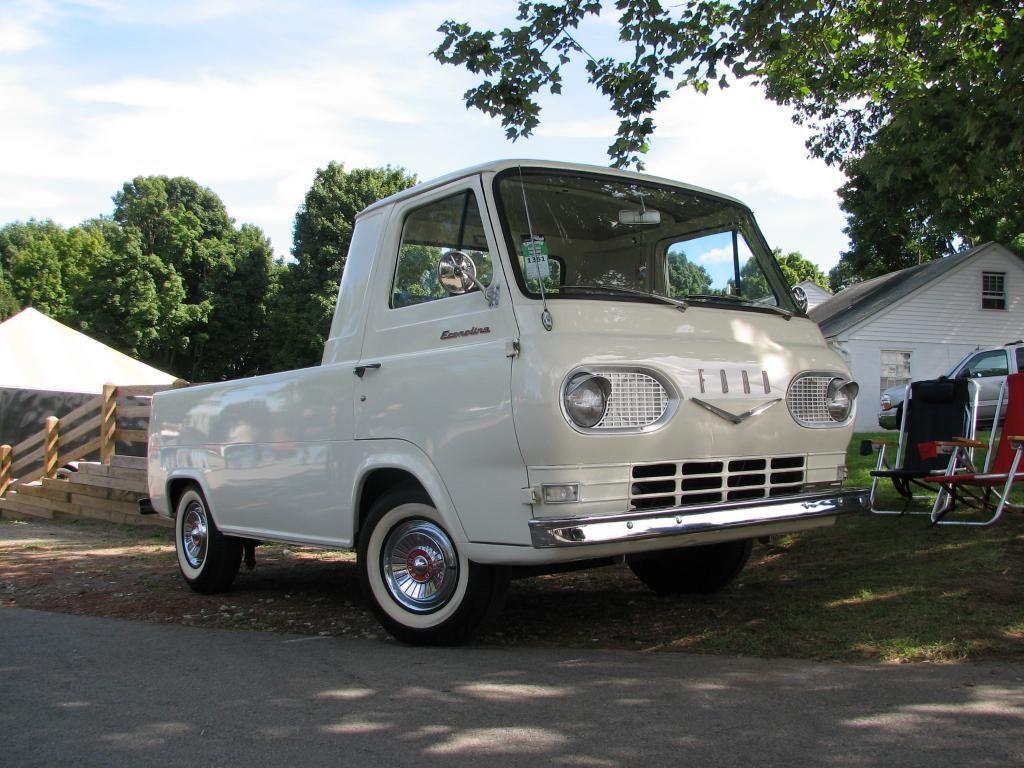 1962 Ford Econoline Pickup Vintage Trucks Cool Trucks Classic